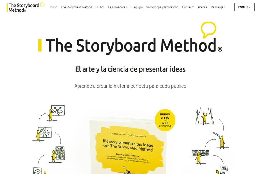 The Storyboard Method · El arte y la ciencia de presentar ideas